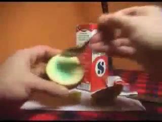Картошка + зубная паста = огонь(или фейк :-)