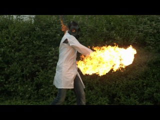 Огненный теннис